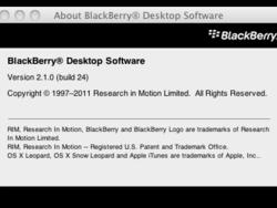 BlackBerry Desktop Software for Mac v2.1.0.24 now available in the BlackBerry Beta Zone