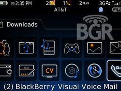 Visual Voicemail for BlackBerry Bold!