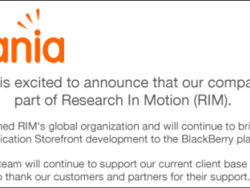 Research In Motion acquires Cellmania to assist with BlackBerry application offerings