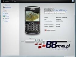 BlackBerry Desktop Manager 6.0 Pics Show Up Online