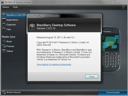 Leaked: BlackBerry Desktop Manager 7 Beta - No keycode required!
