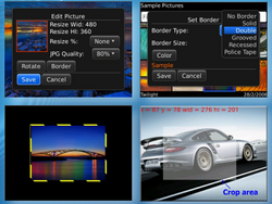 imgLite - Resize, rotate and crop pictures on your BlackBerry