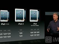 Apple unveils their 7.9 inch iPad mini, tempted?