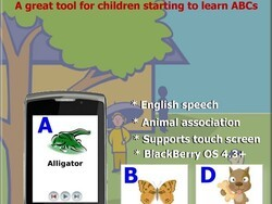 KidsABC by ToySoft - Teach your child the alphabet on your BlackBerry
