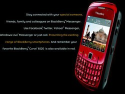 RIM Advertising Their Twitter Client For BlackBerry In India?