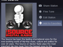 Slacker And The Source Magazine Team Up To Bring You The Best In Hip Hop Music