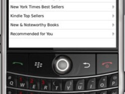 Kindle For BlackBerry Now Available For Download