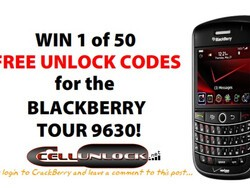 Win a Free Unlock Code for your Verizon, Bell or Telus BlackBerry Tour Courtesy of Cell Unlock - 50 to be Won!!