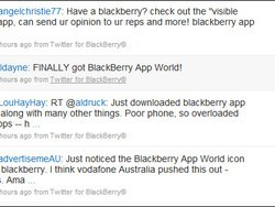 Rumored Twitter For BlackBerry Client by Research In Motion Makes First Tweets?!?