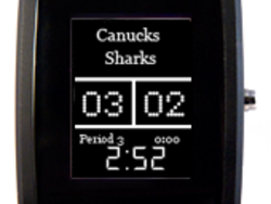 Get hockey scores on your wrist with the inPulse Smartwatch