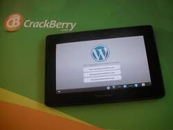 WordPress for PlayBook now available in BlackBerry App World