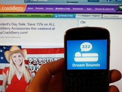 Dream Sounds for BlackBerry will help help you get your Z's