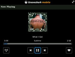 Grooveshark - Another New Streaming Music App for your BlackBerry Smartphone