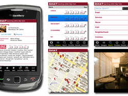Zagat for BlackBerry updated to v8.0