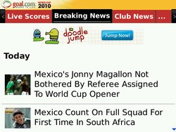 Stay up to date with soccer news from the World Cup and around the globe with the Goal.com app