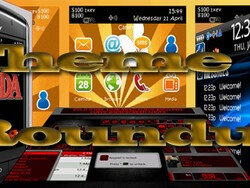 BlackBerry Theme Roundup for April 26th 2010 - 50 Copies of Digital Steel to be Won!