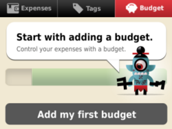 Toshl for BlackBerry makes managing your finances fun and easy!