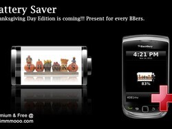 MMMOOO releases FREE Battery Saver Thanksgiving edition plus 25 copies of Battery Saver Pro up for grabs!