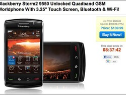 Flashback Friday: Impress your friends with a shiny new BlackBerry Storm2, only $140 at 1SaleADay!