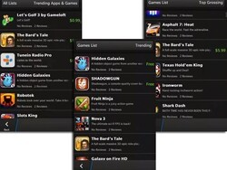 Will we see these Gameloft and Halfbrick games on BlackBerry 10 at launch?