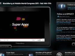 BlackBerry at Mobile World Congress 2011