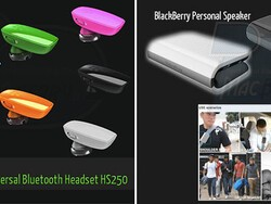 Are these the next batch of Bluetooth accessories from Research In Motion?