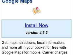 Google Maps for BlackBerry updated to v4.5.2