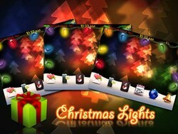 Enter to win a free copy of Christmas Lights theme by MMMOOO!