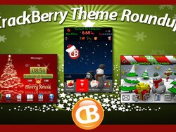 BlackBerry theme roundup for December 6, 2010 - Christmas Edition! Win a free copy of XMasBB!