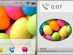 Easter Eggs theme by MMMOOO - Free in BlackBerry App World!