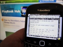 Stylize your emails, tweets, BBMs and more with Jingu Text for BlackBerry!