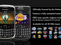 Official NBA themes now available for your BlackBerry - We have 25 copies to give away!