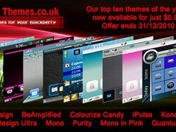 BBThemes end of year sale - 10 themes on sale for just $.99 each through Dec 31st!