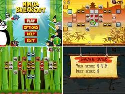 Ninja Breakout by XIMAD now available - Panda vs ninjas!