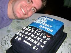 CrackBerry reader Otton gets a sweet BlackBerry cake for his birthday!