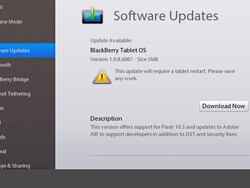 BlackBerry PlayBook OS v1.0.8.6067 now available - Security fixes for DingleBerry included