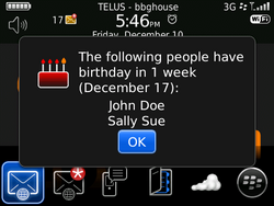 TheBirthdayApp - A free reminder app for your contacts' birthdays.