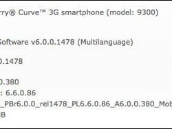 Mobilicity releases OS 6.0.0.380 for the BlackBerry Curve 3G and Bold 9700