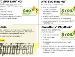 Pick up a BlackBerry Playbook for $199 in Sprint's After Christmas Sale