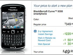 Sprint releases the BlackBerry Curve 9350