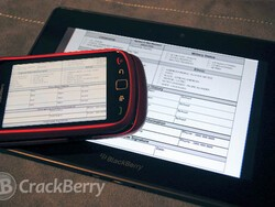 BlackBerry PlayBook and Torch apps for youth workers in Surrey projected to save £100,000