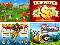 XIMAD has released four awesome new games for BlackBerry - and they're FREE!