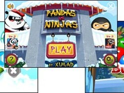 Pandas vs Ninjas, Bubble Birds, and Brain Cube by XIMAD all updated for the holidays!