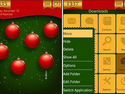 Xmas by HedoneDesign - An animated holiday theme for your BlackBerry