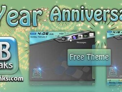 BB-Freaks celebrates their 1 year anniversary with free themes, sales, and a contest!