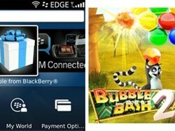 Bubble Bash 2 is the second app released free by RIM as part of the Thank You From BlackBerry Offer