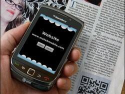 Code Muncher for BlackBerry easily scans QR codes