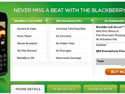 BlackBerry Curve 9350 now available from Cricket Wireless for $130 after discounts