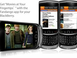 Fandango for BlackBerry now available through BlackBerry App World