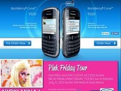 Nicki Minaj performing exclusive concert for BlackBerry subscribers in Manila